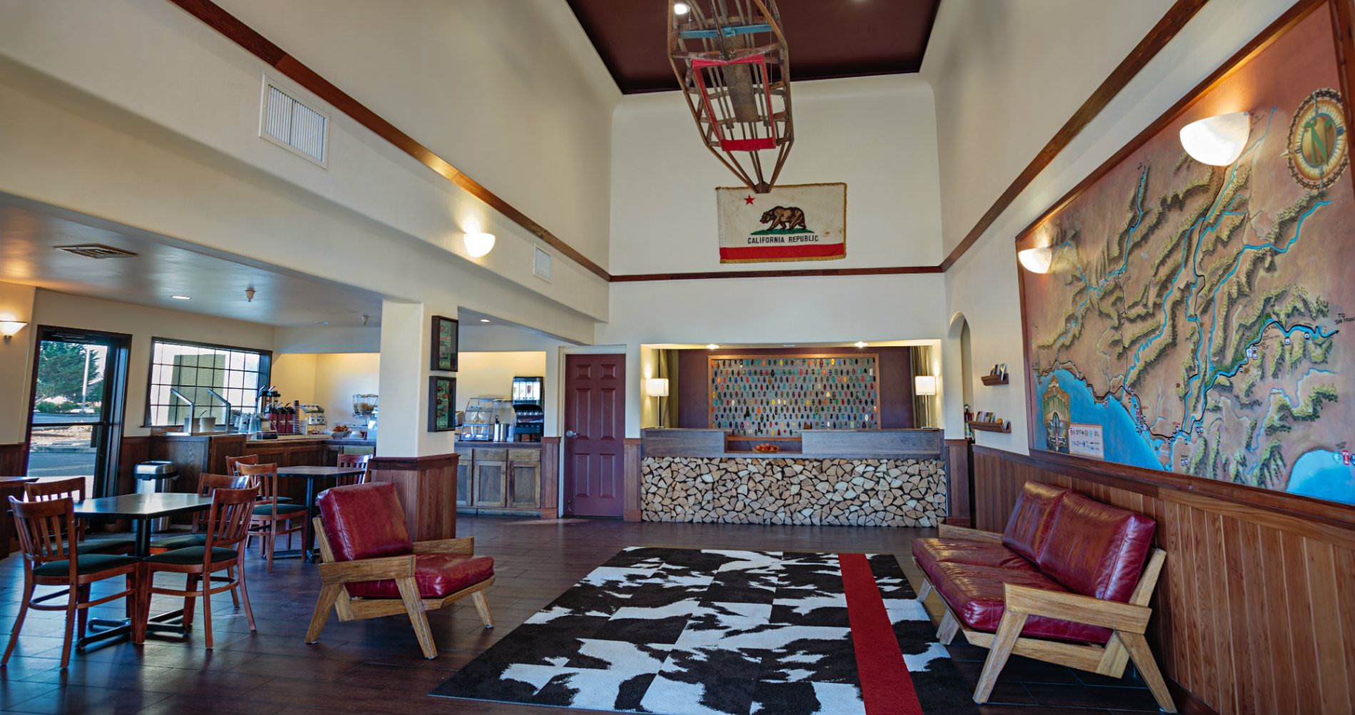 Picture of lobby.